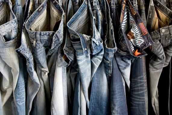 6 par jeans SUPERDEAL Fri frakt!
