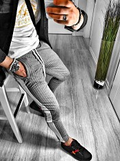 BLK SWEATPANT 4 GREY