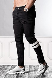 SUPREME AV8 BLACK LINE DX SKINNY FIT JEANS