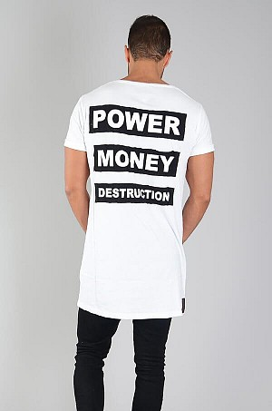 Power tee White