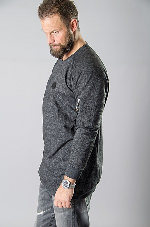 WRKLS LINEAR GREY SWEAT