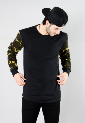 KING CAMO STD SWEAT