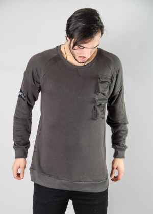 KING TROY ARMY SWEAT