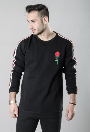 MNKY FLOWER LINE SWEAT