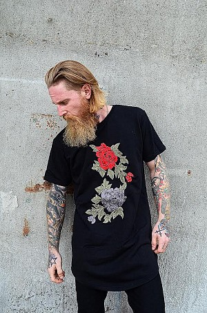 KING FLOWER SWEAT TEE