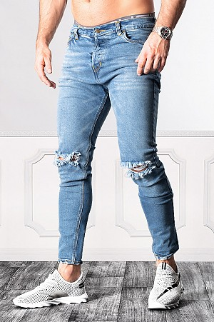 SUPREME AV8 REGEDY LIGHT CARROT FIT JEANS
