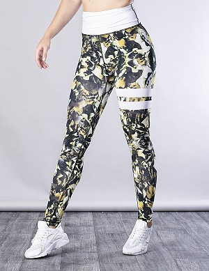 SHAPELAB JUNGLEDOW CRUNCH LEGGINGS