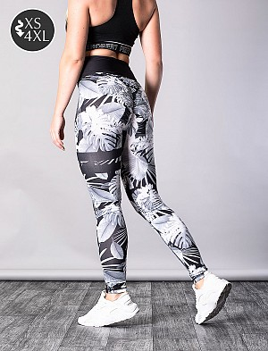 SHAPELAB GREYCODE CRUNCH LEGGINGS