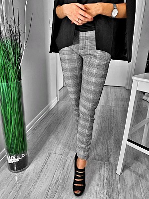 BLK LADY PANTS 2 GREY