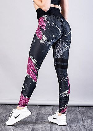SHAPELAB DARY SCRUNCH LEGGINGS
