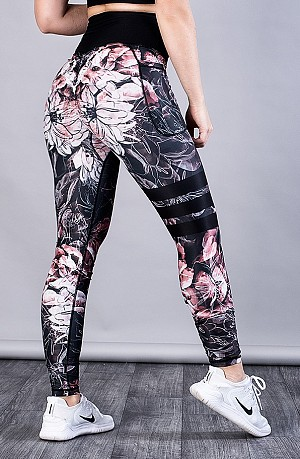 SHAPELAB JEPHORA SCRUNCH LEGGINGS