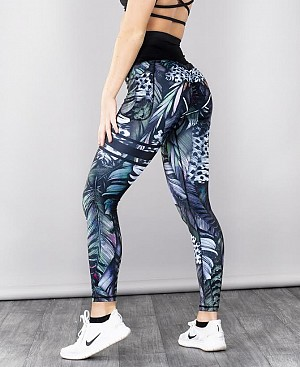 SHAPELAB PLUMA FORREST SCRUNCH LEGGINGS