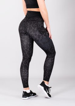 SHAPELAB LEO DARK FORREST SCRUNCH LEGGINGS