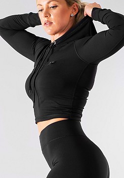 SHAPELAB FIGHTER BLACK TOP LONG SLEEVES